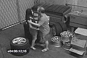 Security Camera Catches Couple Fucking
