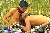 Young Gay Lads Have First Anal In Bushes