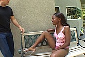 Young Black Minx Gets A Rough Thrusting