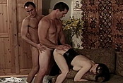 MMF Bisexual Threesome Heats up