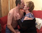 BBW Sadie Drenched By A Hot Cum Shower