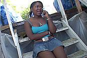 Latress Spanked On Her Fat Black Bottom