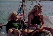 Amateur Lesbians Loving Boat Ride