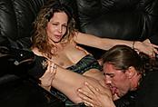 Amateur Couple Fucks On Couch