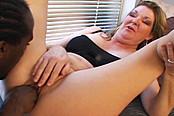 Black Dick Crammed In Milf Jules' Pussy