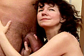 Hot Hairy Older Lady Gets A Massive Cock