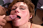 Granny Gets Rammed By Young Stud