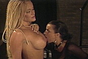 Busty Blonde Gets Flogged By Dominatrix Poser