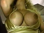 Curlyhaired Dory slut deep throat cock