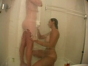 How shower bitches play with their pussies