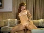 Luscious blonde slut rides a cock
