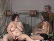 Orgy of two couples gives pleasure
