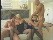 Two blonde bitches pamper wild dicks
