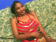 Busty Indian blasted with hot spunk