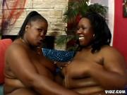 Two Black mamas reach their exceptional orgasms