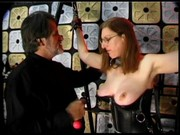 Mature whore's BDSM video