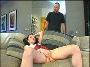 Sabrina Johnson's arse drilled by hot daddy